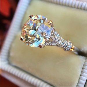 3 Ct Moissanite Engagement Ring!